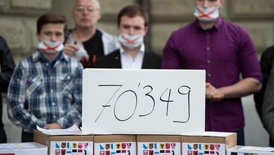 70'349 Unterschriften gegen Ausweitung der Anti-Rassismus-Strafnorm