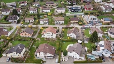 Die Nachfrage nach einem Haus mit Garten ist ungebrochen. (Bild: Benjamin Manser (Mörschwil, 6. April 2019)
