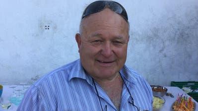 Kurt Bischofberger, Präsident von Voltige Lütisburg. (Bild: Urs Nobel)