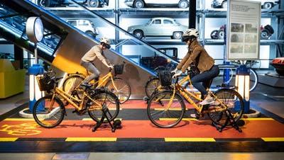 Neue Besucherattraktion im Verkehrshaus: Velofahrer sollen fit für den Strassenverkehr werden