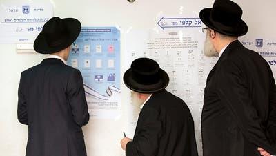 Kopf-an-Kopf-Rennen bei Parlamentswahl in Israel erwartet