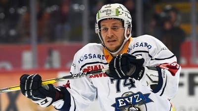 EVZ-Verteidiger Johann Morant ist eine der Teamstützen. Bild: Urs Lindt/Freshfocus