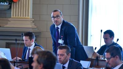 Marcel Dietsche in der Kantonsratssession. (Bild: Regina Kühne/24.4.2019)