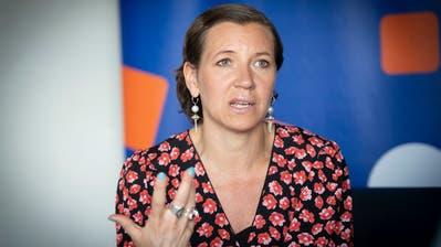 «Wir können es uns nicht leisten, weiterhin business as usual zu betreiben»: AnnaRyott, Vorsitzende des Verwaltungsrats der schwedischen Beteiligungsgesellschaft Summa Equity, am Symposium St.Gallen. (Bild: Ralph Ribi (9. Mai 2019))