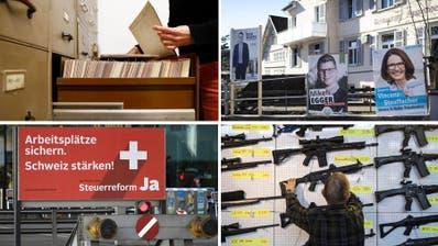 Öffentlichkeitsprinzip im Thurgau, Ständerat in St.Gallen und zwei nationale Vorlagen: Darüber stimmt die Ostschweiz am 19. Mai ab