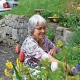 Im Garten fand Anita Nef neben ihrer grossen Familie immer auch Zeit für sich selbst. (Bilder: Katharina Rutz)