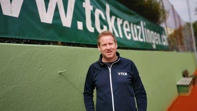 Andreas Schreiber ist Präsident des Tennisclubs Kreuzlingen. (Bild: Nicole D'Orazio)
