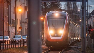 Die fehlende Doppelspur in Rorschach bremst den Bahnausbau Richtung München. (Bild: Urs Bucher)