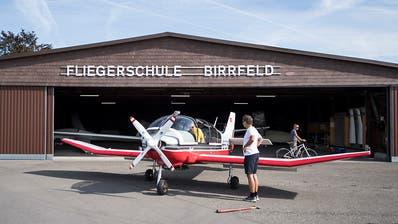 Pilot bei Absturz in der Nähe von Flugplatz Birrfeld getötet