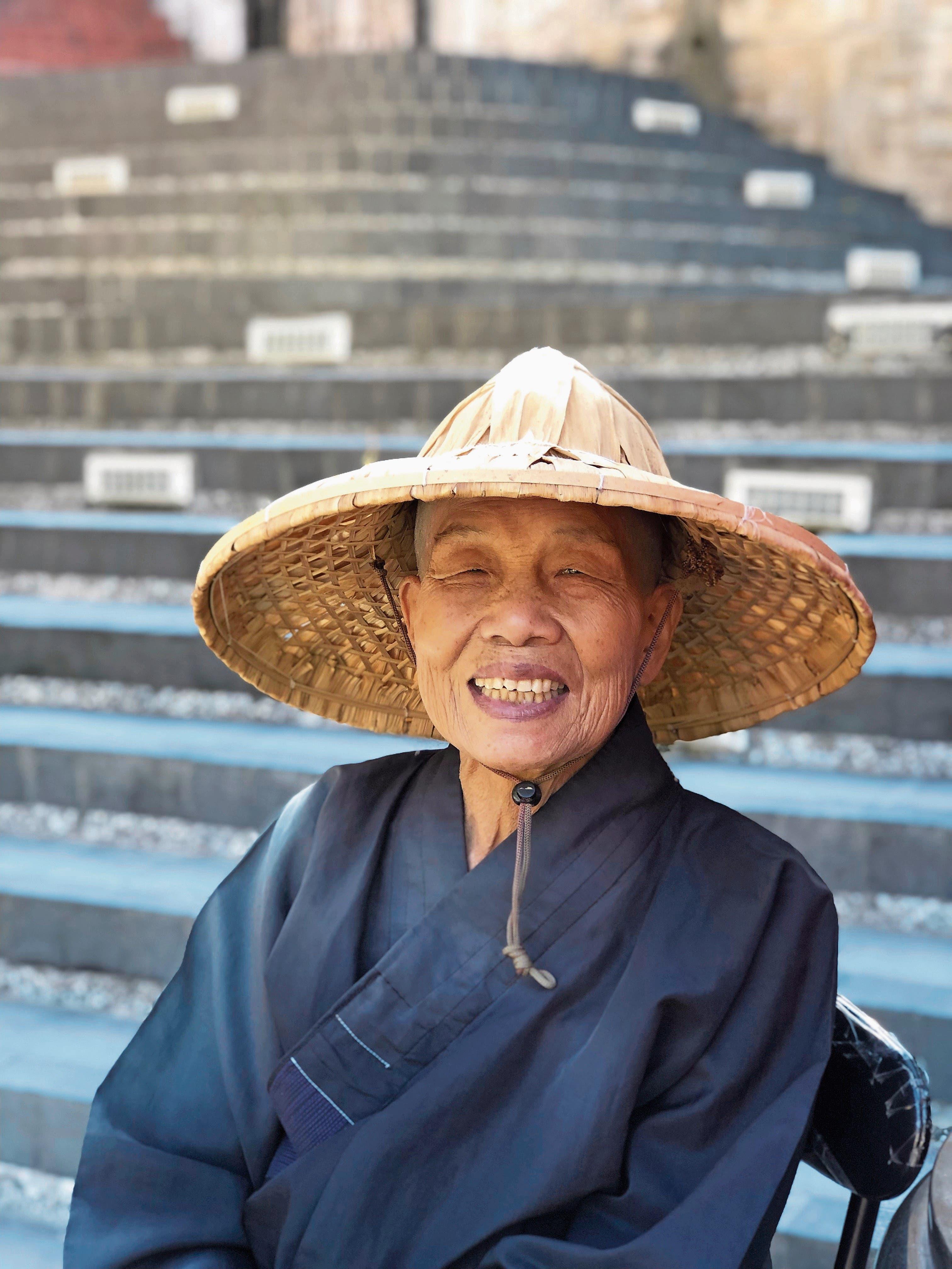 In Taiwan leiten auch Nonnen buddhistische Tempel.