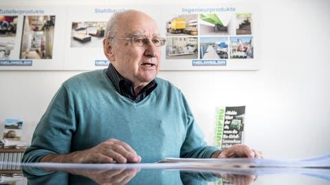 Urs Neuweiler war viele Jahre Präsident der Bürgergemeinde Kreuzlingen. Jetzt hat er das Amt abgegeben. (Bild: Andrea Stalder)