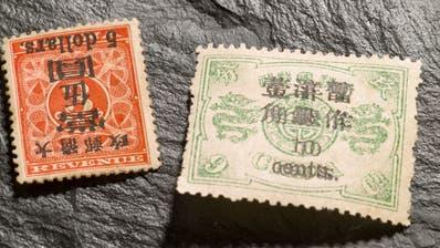 Briefmarken, Schmuck, Uhren und Luxus-Handtaschen unter dem Hammer