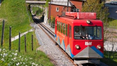 Auch die Strecke Rheineck-Walzenhausen wird überprüft. (Bild: Christoph Sonderegger)
