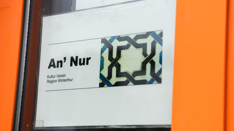 Die An-Nur-Moschee in Winterthur wurde unterdessen geschlossen. (Bild: Walter Bieri/Keystone)