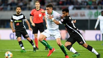 Jetzt live: Lugano trifft schon in der siebten Minute - St.Gallen liegt 0:1 hinten