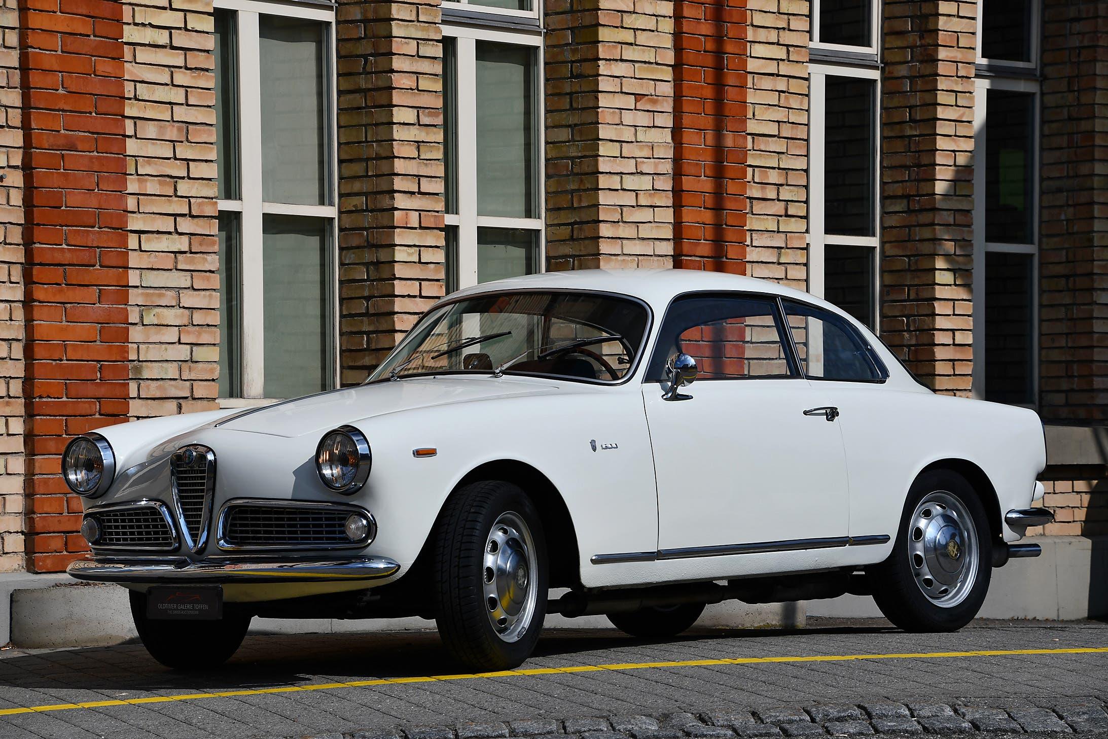 Alfa Romeo Giulia 1600 Sprint 1963
