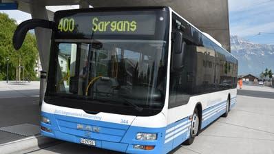 Neuer Passagierrekord auf der Linie Buchs–Sargans