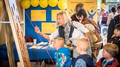 An der Elbi-Expo finden sich Attraktionen für Gross und Klein. (Bild: Reto Martin, Mai 2017)