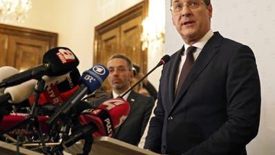 Strache tritt als Vizekanzler und Parteichef zurück