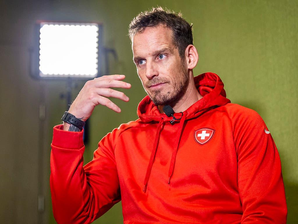 Patrick Fischer vor dem Spiel gegen Schweden: «Wir wissen, wie wir die Grossen schlagen können. Und wir wissen, welche Fehler wir uns nicht leisten dürfen.» (Bild: KEYSTONE/MELANIE DUCHENE)