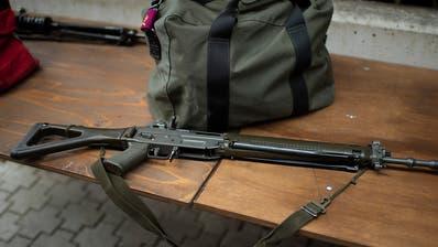 Stimmvolk mit 63,7 Prozent für Waffenrecht