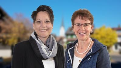 Neu im Kernser Einwohnergemeinderat: Diana Zumstein-Odermatt (links) und Marlies Durrer-Ettlin. (Bild: PD)