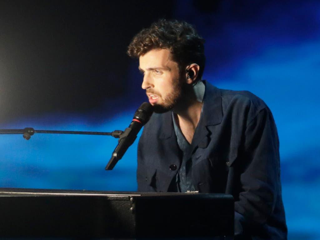 Der «Eurovision Song Contest»-Gewinner 2019: Duncan Laurence aus den Niederlanden. (Bild: KEYSTONE/AP/SEBASTIAN SCHEINER)