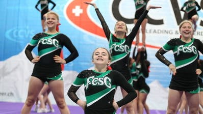 Top-Resultate in Martigny: die FCSG-Cheerleader. (Bild: PD)