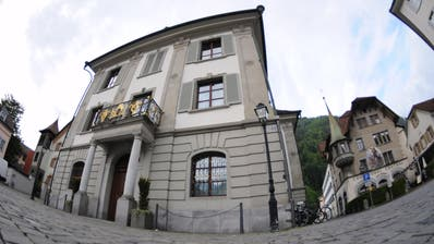 Uri passt sein Wahlsystem für den Landrat an, der im Rathaus in Altdorf tagt. (Bild: Urs Hanhart)