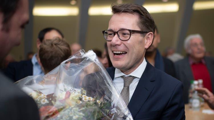 Der neu gewählte St.Galler Ständerat Benedikt Würth (CVP). (Bild: Keystone/Gian Ehrenzeller)