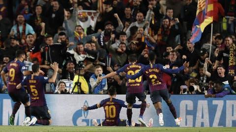 FC Barcelona mit einem Bein im Final