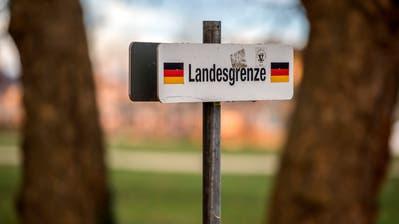 Kreuzlingen TG - Die Kunstgrenze zwischen Kreuzlingen und Konstanz.