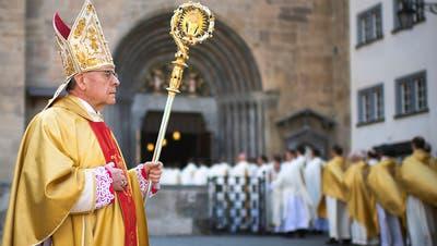 Huonder ist weg: Oberwalliser wird Apostolischer Administrator des Bistums Chur