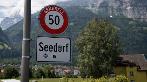Am Palanggenbach in Seedorf sind mehrere Massnahmen geplant. (Bild: Corinne Glanzmann, 5. Juni 2018)