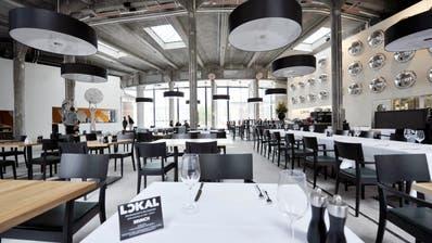 Das Restaurant in der Lokremise: Auch Grossanlässe finden hier statt.