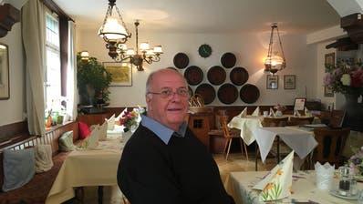 Der Ur-Konstanzer Kurt Köberlin im Gasthaus Wallgut in der Altstadt. (Bild: Urs Brüschweiler)