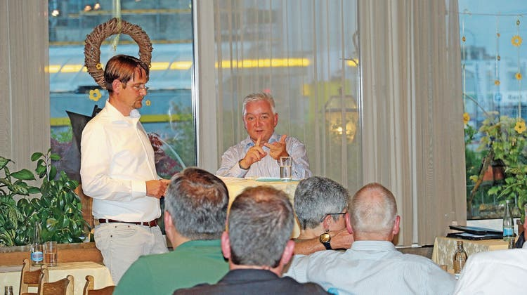 Diepoldsauer Gemeindepräsident im Kreuzverhör