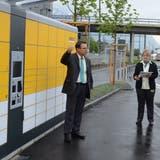 Am Bahnhof Buchs können Kunden jetzt rund um die Uhr Pakete abholen und aufgeben