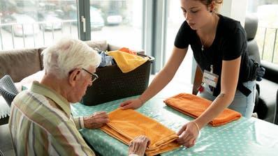 15 Plätze für Menschen mit Demenz bietet die Pflegewohngruppe in Trübbach. (Bilder: PD)