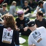 Demonstranten in Wien forderten letzte Woche das Ende der FPÖ in der Regierung und verwiesen auf das Skandal-Treffen des inzwischen zurückgetretenen Heinz-Christian Strache. (Bild: M. Gruber/Keystone, 18. Mai 2019)