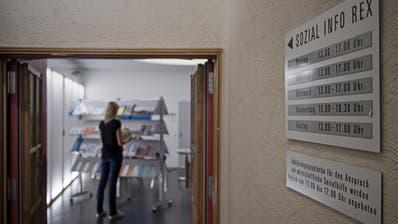 Einblick in die Räumlichkeiten der Abteilung Soziale Dienste der Stadt Luzern. (Bild Pius Amrein, 4. September 2016)