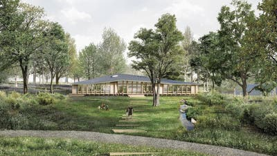 Kindergarten Neubau in Rotkreuz richtet sich nach der Sonne