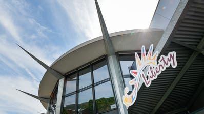 Die Architektur des Liberty Cinema Weinfelden fasziniert. (Bild: Donato Caspari)