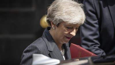 Rücktritt: Britische Premierministerin Theresa May wirft das Handtuch