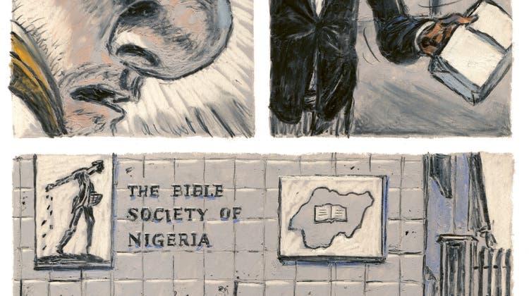 """""""Salzhunger"""" von Matthias Gnehm spielt in der nigerianischen Ölhafenstadt Lagos. Es geht um schmierige Machenschaften. (Bild: Edition Moderne"""
