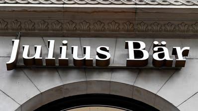 Julius Bär steigert Vermögen in ersten vier Monaten
