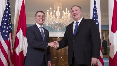 US-Aussenminister Mike Pompeo kommt in die Schweiz
