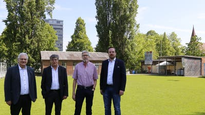 Rorschach will Fussball-Garderoben mit einer Kinderarzt-Praxis unter einem Dach vereinen