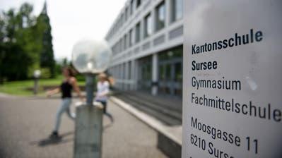 Die Kantonsschule Sursee. (Symbolbild: Corinne Glanzmann)