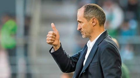 FCL-Trainer Thomas Häberli: «Jede Vertragsverlängerung ist für mich ein grosser Erfolg.»